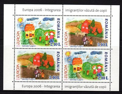 Romania 2006 Europa Integration Sheetlet 4 MNH