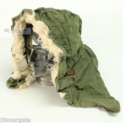 US M-51/M65 Cold Weather Hood for Fishtail Parka & M65 Jacket - Genuine US Issue