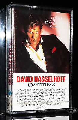 DAVID HASSELHOFF - LOVIN' FEELINGS 1987 CBS MC Kassette tape cassette NEU