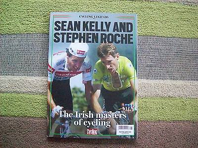 Cycling Legends SEAN KELLY/ROCHE Issue 8 Cycling Weekly magazine.....Brand New