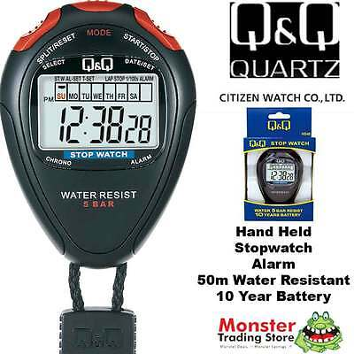 Australian Seller Citizen Made Pro Hand Held Stop Watch Hs46J003 Rp$79.95 Warnty