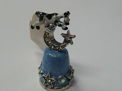 Cow Over The Moon - Kirk's Folly Thimble - New
