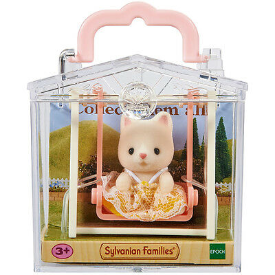 Sylvanian Families Cat On See Saw Baby Carry Case Uk