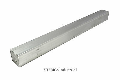 "3/4"" Inch 12"" Long 6061 Aluminum Square Bar Mill Rod Stock .75"""
