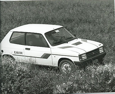 Chrysler Talbot Samba Rallye Original Press Photograph 24cm x 18cm