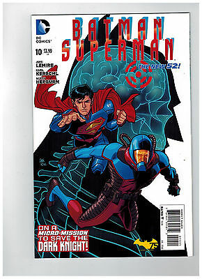 BATMAN/SUPERMAN #10  1st Printing - The New 52!                 / 2014 DC Comics