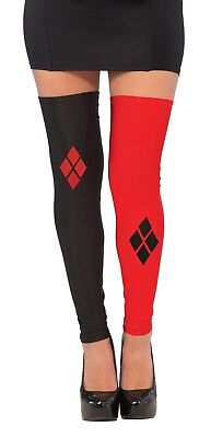 Harley Quinn Thigh Highs Stockings Adult Costume Accessory NEW