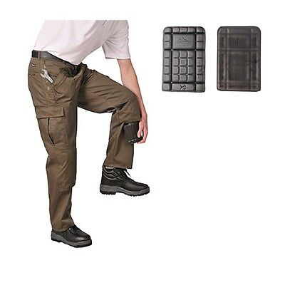 Mens Work Trousers Knee Pads Pack of 2 - One Size Fits All / KP44
