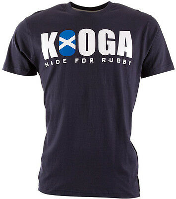 Kooga 6 Nations Scotland Mens Short Sleeve Top - Blue