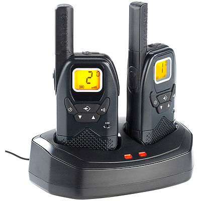 simvalley communications Profi-Walkie-Talkie-Set WT-100, bis 10 km