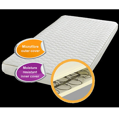 Rochingham Sleepsense Cotbed Spring Mattress 140 x 70