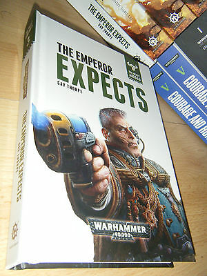 Gav Thorpe THE EMPEROR EXPECTS 1st/HB MINT Warhammer 40K The Beast Arises Book 3