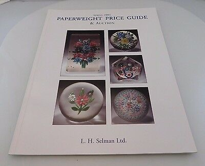 Collectors Auction Catalog & Price Guide Paperweights L.H. Selman 2001 Paperback