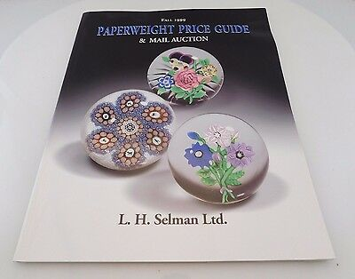 Collectors Auction Catalog & Price Guide Paperweights L.H. Selman 1999 Paperback