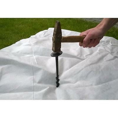 Super strong Black  Pegs for  Weed Control Fabric Membrane