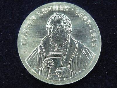 DDR. 20 Mark, 1983 A, Martin Luther, J.-1591, Silber.! orig.! St.!