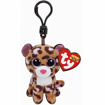 Ty Beanie Babies 35008 Boos Patches the Leopard Boo Key Clip