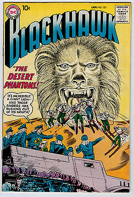 Blackhawk #132 6.0 Off-White Pages Silver Age