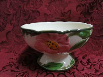 "Franciscan Desert Rose: Sherbet Dish (pottery), 3 7/8"" AS IS"