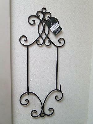 """Chevalet D'Exposition Chelsea Bronze Color Display Rack for One Plate 10"""" - 14"""""""
