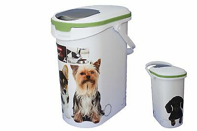 CURVER petliefe Pet food Container 10 Litre for 4 kg dry food Dog 195