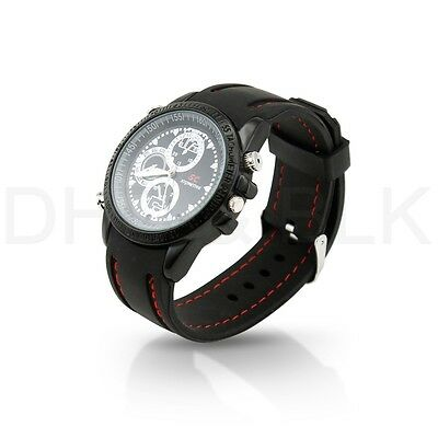 Hidden Mini 8GB Spy Watch DVR Video Recorder-Pinhole Camera Camcorder Waterproof