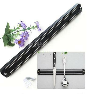 "13"" Magnetic Knife Holder Wall Mounted Storage Utensil Chef Rack Kitchen Tool"