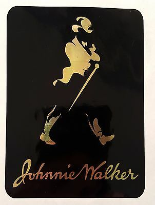 Johnnie Walker scotch whisky sticker / decal