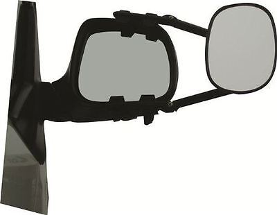 Milenco/MGI Steady XL Towing Mirror Flat Twin Pack Pair Caravan Trailer Horsebox