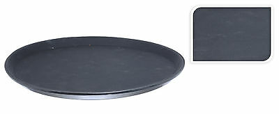 "Round Non Slip Bar Pub Waiter Serving Drinks Food Tray - 35cm (14"")"