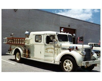 1948 Diamond T Oren Fire Truck Photo Corriganville MD ca4668
