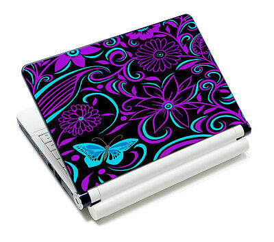 Purple Design 15 6 Laptop Skin Cover Sticker Decal For Hp Acer Dell