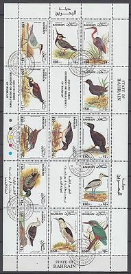 Bahrain 1992 used c.d.s. Mi.498/10 Vögel Birds Zugvögel Migrants [g2242]