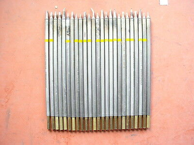 Lot of 25 random assorted soldering tips for Metcal
