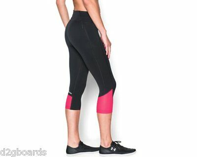 2016 NWOT Under Armour UA Fly-By Compression Pant Pants Womens S Small fx490