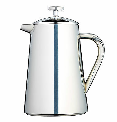 Le'Xpress 1L Stainless Steel Double Walled Insulated Cafetiere - KCLXSSCOF8CUP