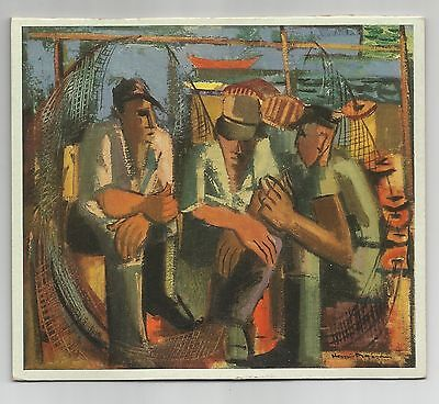 Nova Scotia Fishermen, Henri Masson, Rous & Mann Press,  Art Print / Calendar