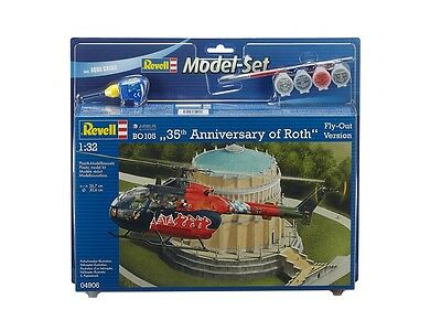 Revell 64906 Model Set BO 105 Fly Out Painting