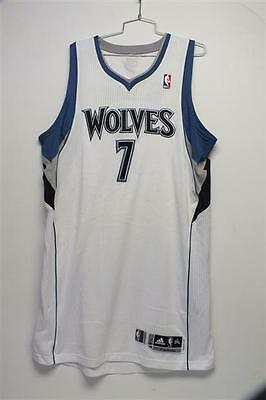 2011-12 Derrick Williams Game Used Minnesota Timberwolves RC Home Jersey w/  LOA