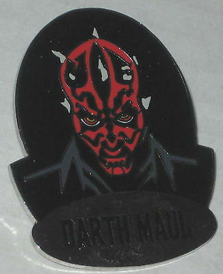 1999 Star Wars Darth Maul Lapel Pin FREE Shipping