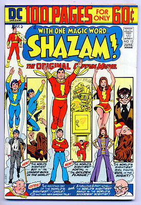 SHAZAM! #12 VF/NM, 100 Page Giant, Captain Marvel, Billy, Mary, DC Comics 1974
