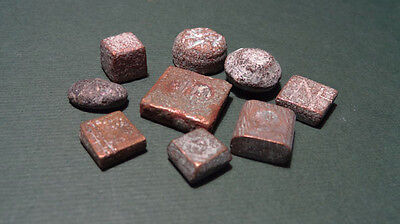 9 Ancient Bronze Weights Variety Egyptian Phoenician Roman Byzantine 900Bc-700Ad • CAD $346.05