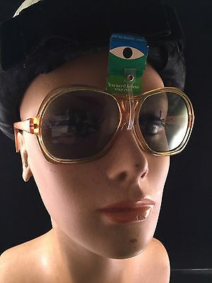 Pair Of Vintage Yellow Cool Ray Polarized Plastic Sunglasses