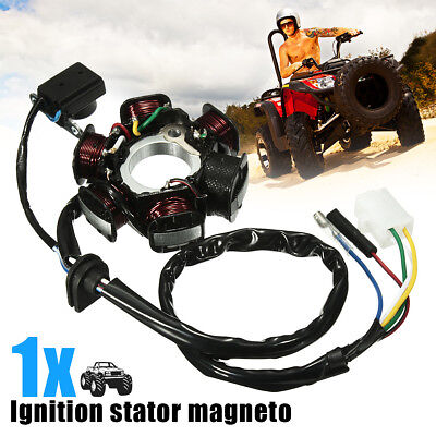 GY6 50 110 150cc 6 Pole Ignition Stator Magneto For Scooter Moped ATV TAOTAO New