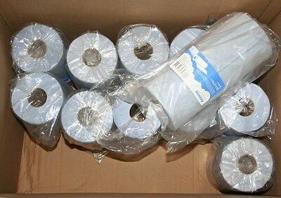 12 x Rolls 2-Ply Couch Hygiene Rolls 250mm x 40m Blue 5347692, S3MJ#