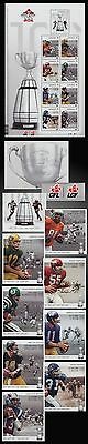 GREY CUP 100th.GAME BC LIONS EDM. ESKIMOS CALGARY STAMPEDERS TO. ARGONNAUTS S.
