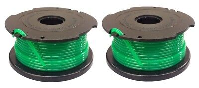 2 Replacement Trimmer Line Spools and Cap for Black & Decker SF-080