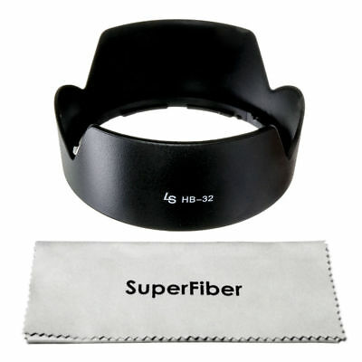 HB-32 Dedicated Lens Hood for Nikon 18-140mm 18-135mm 18-105mm 18-70mm