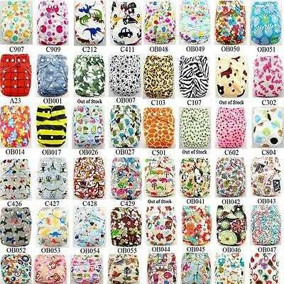 Reusable Kid Infant Washable Baby Cloth Diaper NappyDiapers Cover Adjustable