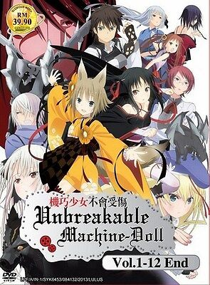 UNBREAKABLE MACHINE DOLLS | Episodes 01-12 | English Subs | 2 DVDs (GM0126)-LU